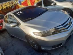 Honda City  LX 1.5 2014 - Automático com GNV