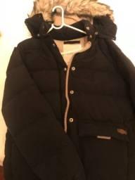 Casaco de neve preto Ralph Lauren