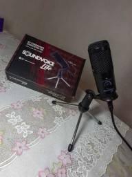 Kit condensador-1200 (novo lançamento) cabo USB, microfone para computador.