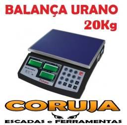 Balança Urano 20kg Nova 1 Ano Garantia Nota Fiscal Inmetro