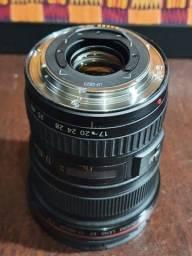 Lente Canon 17-40mm F/4 USM L - impecável