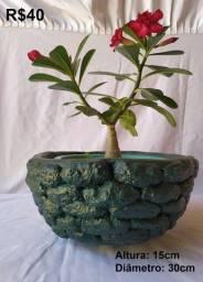 Vasos e Enfeites para jardins