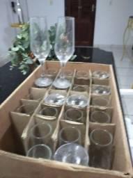 Taças para champanhe