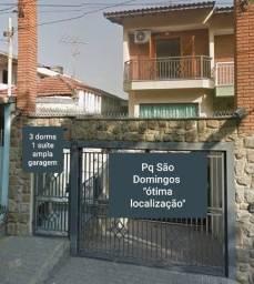 Título do anúncio: Sobrado para venda com 3 dorms sendo 1 suite, ampla garagem no Parque São Domingos - São P