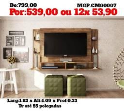 Super Promoção em MS-Painel de tv até 55 Plg-Painel de televisão- Painel Sala de Estar