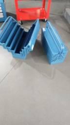caixa de ferramentas com 7gavetas azul  marcon 507fa