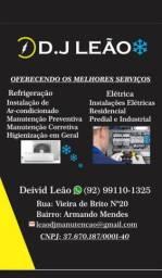 Serviços de Elétricista e técnico e m Refrigeração