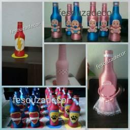 Decoração de festas e utensílios para bebê