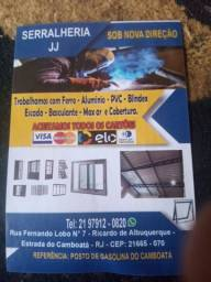 Serralheria JJ serviços geral com ferro alumínio