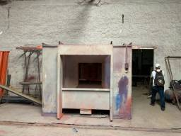 Gabine de pintura eletrostática