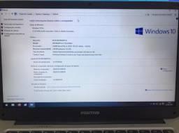 Vendo usando Notebook Positivo e Tablet Samsung