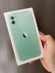iPhone 11 64 verde Lacrado até 12x
