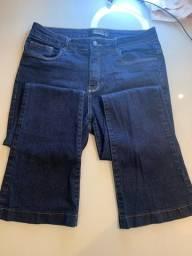 Calça jeans shoulder flar
