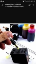Tinta para impressora hp r10