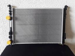 Radiador de água  brazado Fiat palio, Strada, modelo com ar condicionado.