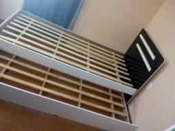 BI cama de solteiro  reforçada em perfeito estado .