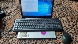 Vendo notebook com trincado no touch-screen, funciona tudo!