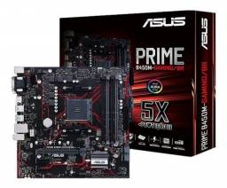 Placa mãe AM4 - Asus B450M Prime Gaming