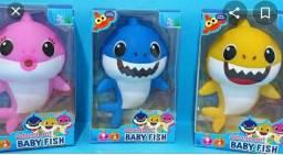Brinquedo baby shark toca músicas