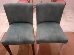 6 Cadeiras antigas excelente estado 200 cada