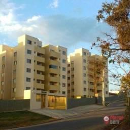 Título do anúncio: Apartamento com 2 dormitórios à venda, 56 m² por R$ 175.000 - Campinho - Lagoa Santa/MG