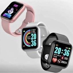 D20/Y68 Smartwatch Android IOS Inteligente Bluetooth - Cor Branca