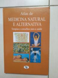 Livro Atlas de Medicina Natural e Alternativa