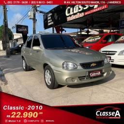 Título do anúncio: CLASSIC VHC 1.0 Flex 2010 Completo de Tudo
