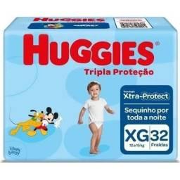 Promoção pague 2 leve 3 Fralda Huggies pacote mega
