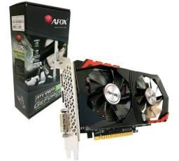 Placa de Vídeo Afox Nvidia GTX 1050 Ti, 4Gb, Gddr5 128Bit