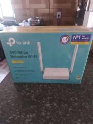 Roteador wi-fi na caixa lacrado