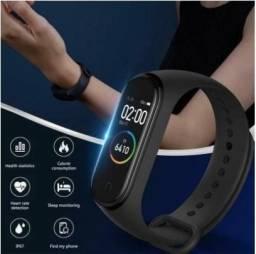 Pulseira Inteligente smartband M4 Monitor Cardíaco Relógio Medidor de pressão