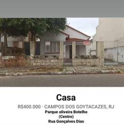 Vendo Casa - Centro de Campos