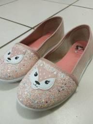 Sapato de gliter