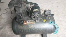 Título do anúncio: Compressor de ar Schulz Bravo 10 Pés Monofásico.
