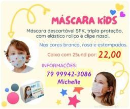 Título do anúncio: Máscara descartável infantil