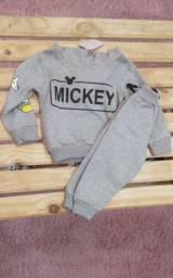 Conjunto moletom Mickey