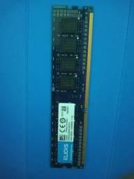 Título do anúncio: Memória ram DDR3 1600mhz *queimada*
