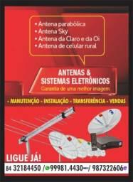 Instalações de Antenas de TV em Geral