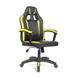 Título do anúncio: Super Cadeira Gamer Amarela