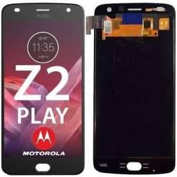 Tela Touch Display Moto Z2 Play
