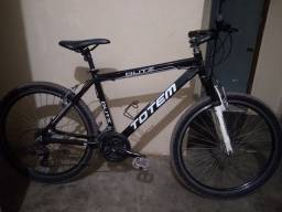 Título do anúncio: Vendo ou troco bicicleta totem aro 26 toda Shimano