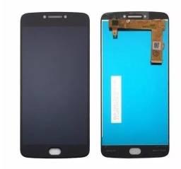 Título do anúncio: Tela Frontal Display Touch Motorola E1 E2 E4 E4 Plus