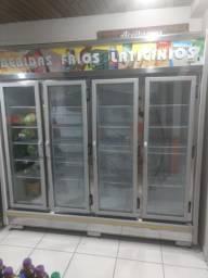 Geladeira 4 portas Gelopar