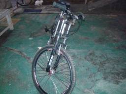 Vendo essa bike de aluminio