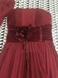 Vestido de Festa. Usado 1 vez