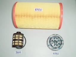 Kit filtro ar, oleo, combustivel ducato 2.8/2.3