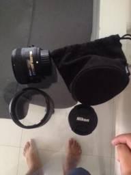 Lente Nikon 50mm F 1.8