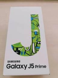 Celular j5 prime 32 gigas lacrado com nota fiscal.