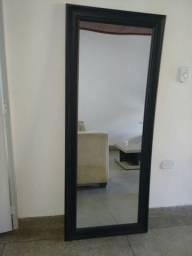 Espelho Preto Grande 1,22x73